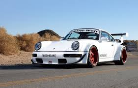 stanced porsche gt3 sweet and tender hoonigan rauh welt 911 turbo debuts at sema