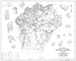 Ky Map Maps Of Wayne County U0026 Kentucky