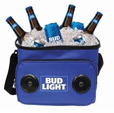 Case Of Bud Light Amazon Com Bud Light Soft Cooler Bag With Built In Bluetooth