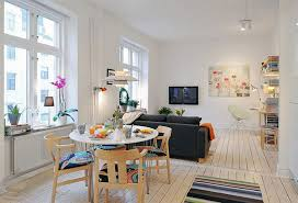 Small Loft Ideas Beautiful Contemporary Small Kitchen And Dining Room Design Ideas