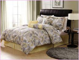 Contemporary Bedding Sets Solid Grey Comforter White Modern Bedding Set White Bed Set King