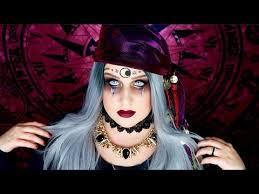 Fortune Teller Halloween Costume Dark Fortune Teller Makeup Tutorial Fortune Teller Halloween