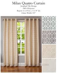 108 In Blackout Curtains by Milan Quatro Curtain Panel Www Bestwindowtreatments Com Milan