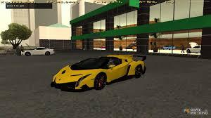 Lamborghini Veneno All Black - veneno roadster lp750 4 2014 for gta san andreas