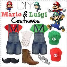 Toddler Luigi Halloween Costume Diy Mario Luigi Costumes Polyvore