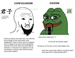 Dank Memes Meaning - daoism confucianism n stent existe st memes tl note junzi means