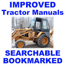 case 480c 480 c loader backhoe tractor repair service shop manual