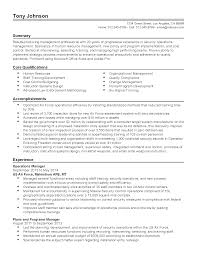 Best Program Manager Resume by Construction Operation Manager Resume Baileybread Us