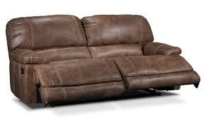 Brown Recliner Sofa Durango Reclining Sofa Saddle Brown S