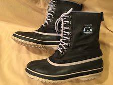 s waterproof boots size 9 sorel lolla black quarry boots size 9 5 s waterproof leather