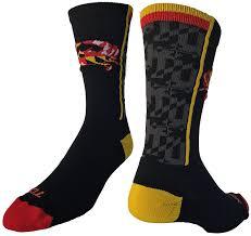 Maryland Flag Vinyl Amazon Com Maryland Flag With Crab Crew Socks Sports U0026 Outdoors