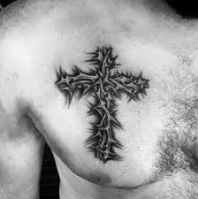 50 simple chest tattoos for manly design ideas 50 simple chest