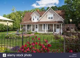 the h g robinson house and gardens in malta montana usa stock