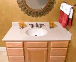 Vanity In Espresso Brown With Quartz Marble Vanity Top In White - Bathroom vanity top glue