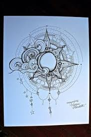 sun and moon mandala drawing google search mandala