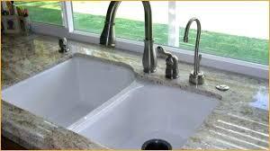 kohler cast iron kitchen sink kohler cast iron kitchen sink drop in cast iron in 4 hole double