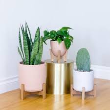 best planters mad for mid century cheap modern planters a simple diy inspirations
