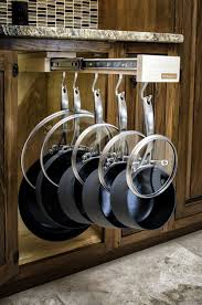 kitchen oak wooden kitchen cabinet design ideas with pots and
