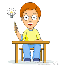 Light Bulb Clipart Student Thinking Clipart Many Interesting Cliparts