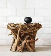 teak root dining table base reclaimed teak root furniture rustic designs