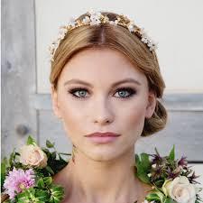 bridal tiara bee bridal tiara laurel lime wedding hair accessories