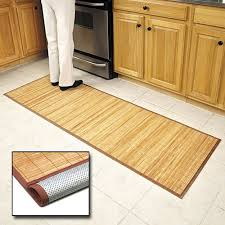 Best Rug For Kitchen by Amazon Com Bamboo Floor Mat 24 U0027 U0027 X 72 U0027 U0027 Kitchen Mats Kitchen