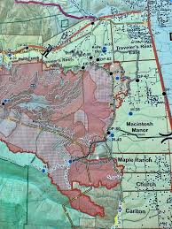 Bitterroot Mountains Map Lolo Peak Fire Photos Mtpr