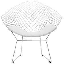 bertoia style diamond chair u2013 poly bark