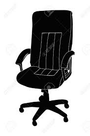 Free Desk Chair Office Executive Desk Chair Royalty Free Cliparts Vectors And