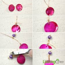 make dangle earrings how to make simple dangle beaded earrings for beginners pandahall