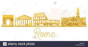 Map Italy Silhouettes Italian Cities by Roman Coliseum Silhouette Stock Photos U0026 Roman Coliseum Silhouette