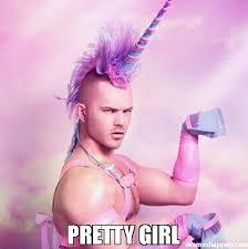 Pretty Girl Meme - pretty girl meme unicorn man 42041 memeshappen