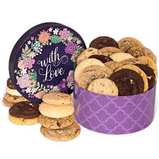 cookie gift baskets with cookie gift box by cheesecake