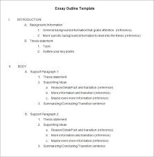 essay outline example sample 5 paragraph essay outline best 20