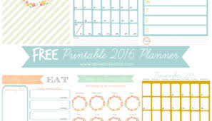 free printable 2016 day planner free planner pages to keep your organized this year