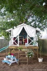 Backyard Fun Ideas For Kids Best 25 Treehouses For Kids Ideas On Pinterest Treehouse Ideas