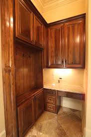 stained old cypress mudroom cabinets r j quality cabinets
