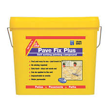 Patio Jointing Compound Sika Pave Fix Plus Compound Grey 11ltr Additives U0026 Plasticisers