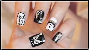 new years eve nail art youtube