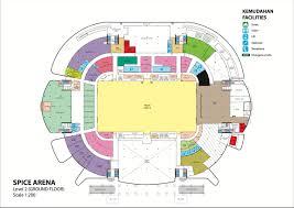 Stadium Floor Plan by Setia Spice