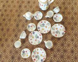 Miniature Tea Cups Favors by Miniature Baskets Wedding Favors Tiny