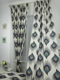 pier one peacock feather curtains livingroom dining room colors