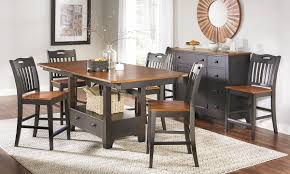 counter high dining room sets american heritage counter height dining set haynes furniture