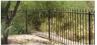 fence company ornamental iron work in tucson az