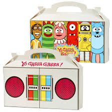 yo gabba gabba party empty favor boxes birthdayexpress
