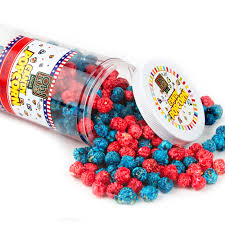 How To Make Candy Navy Blue And Red Candy Coated Popcorn Blueberry Cherry