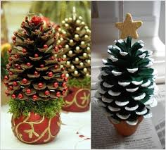 brilliant ideas pine cone tree ornaments 55 awesome