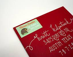 custom hedgehog return address labels 40 labels free