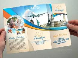 travel brochure template for students travel phlet template fold travel brochure template free travel