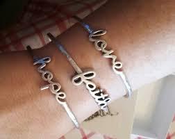 faith bracelets premier designs word play bracelet faith gift
